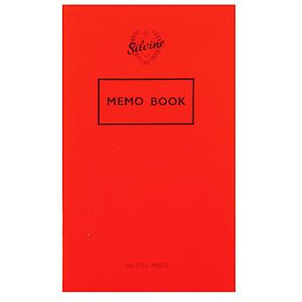 Silvine Memo 72 Page Feint Notebook (24 Pack)