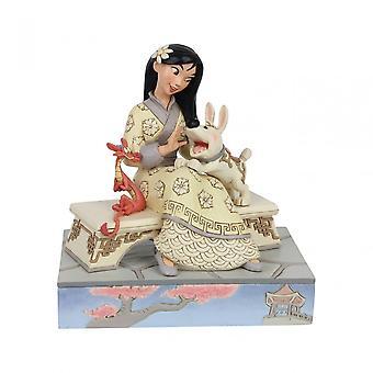 Disneyn perinteet kunniallinen sankaritar Mulan Figurine