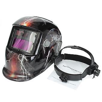 Automaattinen kypärä Sähköhitsaus maski Auto Darkeningtig Mig Hitsaus linssi