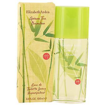 Groene thee bamboe Eau De Toilette Spray door Elizabeth Arden 3.3 oz Eau De Toilette Spray