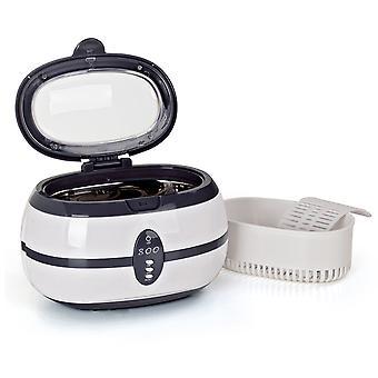 Ultrasonik Temizleyici, Taşınabilir Ev VGT-800 Ultrasonik Temizleme Makinesi Gözlük, Takı, Protezler Temizlemek için