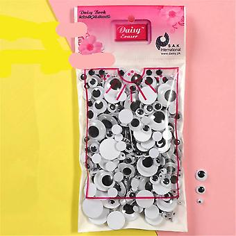 Colorful Black Eyes Stickers