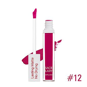 Matte Lip Glaze Sexy Long Lasting Waterproof 6ml