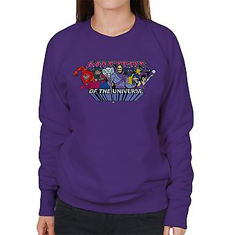 Masters of the Universe Villains Logo Kvinnor & s Sweatshirt