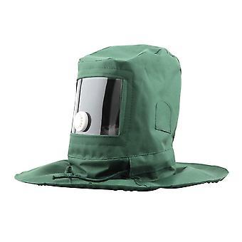 Gezichtsmasker voor industrieel werk / beschermende helm stralen kap zand schuren