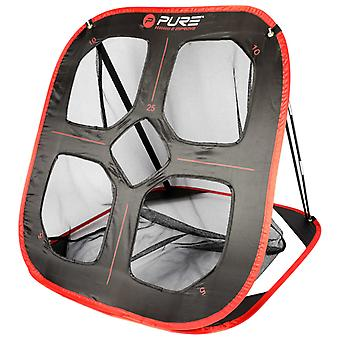 Pure2Improve Pop-Up Golf Exercise Net 82×80×88 cm Black and Red