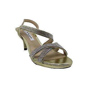 Nina Womens Nizana Open Toe Special Occasion Strappy Sandals