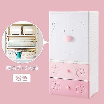 Kinder's Schublade, Empfangsschrank, Baby-Garderobe, Kunststoff-Lagerung,
