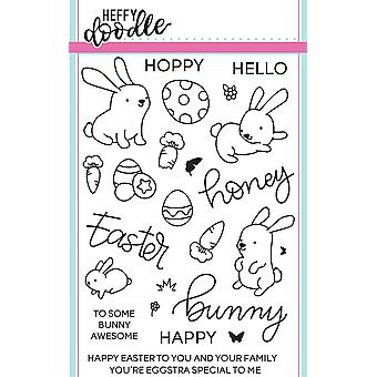Heffy Doodle Honey Bunny Boo Clear Stamps