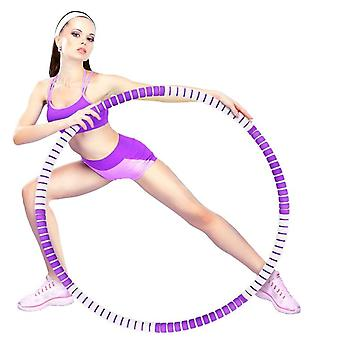 Weight Loss Exercise Hoop, Removable 8 Segments Hula Hoop For Fitness