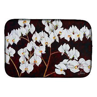 Carolines Treasures FHC1003DDM Orkideer af Ferris Hotard Dish Tørring Mat