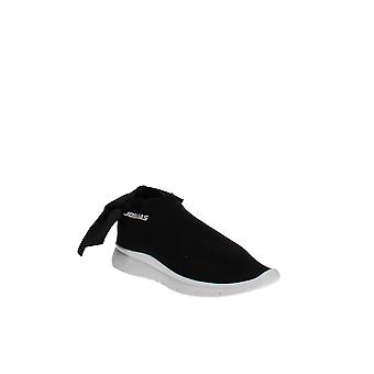 Joshua Sanders   Stretch Knit Bow Slip-On Sneakers