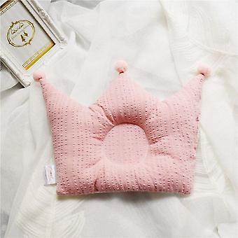 Almohadas para bebés, lindas caricaturas contra la cabeza de desviación cabeza geométrica en forma,