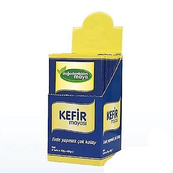 Probiotisk kefirjästjästjästförd produkt med många tillskrivna hälsa