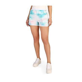 Calvin Klein -BRANDS - Vaatteet - Lyhyt - J20J205427-002 - Naiset - valkoinen,turkoosi - S