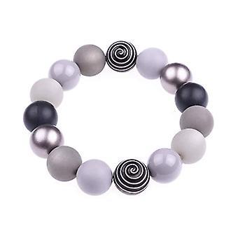 Materials Tamara bracelet grey mix