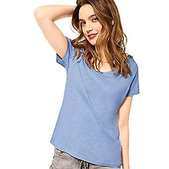 Street One Gerda T-Shirt, Mid Sunny Blue, 48 Kvinna