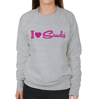 Sindy I Love Sindy Naisten collegepaita