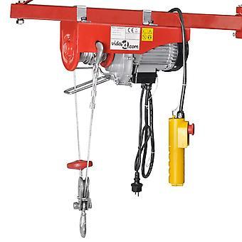 Elektrische katrol 1300 W 400/800 kg