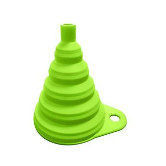 Mini Silicone Collapsible Folding Funnel