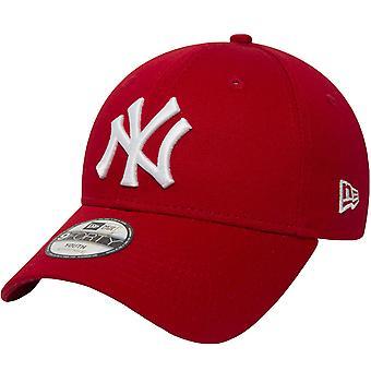ניו עידן נוער ניו יורק יאנקיז חיוני 9Forty כובע מתכוונן - אדום - 6-12 Yrs