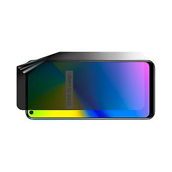 Celicious Privacy Lite (Landscape) 2-Way Anti-Glare Anti-Spy Filter Screen Protector Film Compatible with Realme 7i