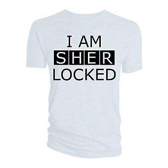 Sherlock - I am Sherlocked Men's Small T-Shirt - White