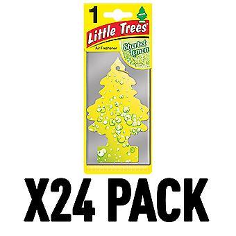 Sherbet Lemon (Pack Of 24) Little Trees Air Freshener