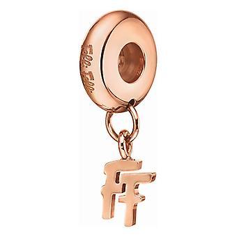 Ladies'Beads Folli Follie 1P16T011R Ruusukulta (1 cm)