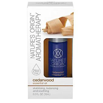 Luonnon alkuperä Cedarwood Eteerinen öljy, 24 X 15 ml