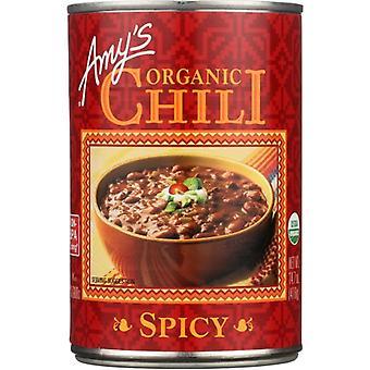 Amys Chili Spicy Gf Org, Case of 12 X 14.7 Oz