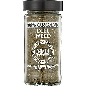 Morton & Bassett Dill Weed Org, Case of 3 X 0.8 Oz