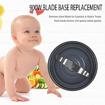 Durable Stainless Blender Juicer Mixer Flat Milling Blade Base Replacement