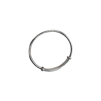 Silver plating Pull-out Adjustable Bracelet Female Retro Simple All-match Creative Trendy Jewelry