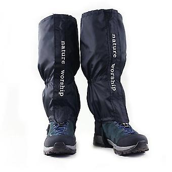 Waterproof outdoor hiking walking climbing hunting snow legging gaiters ski gaiters