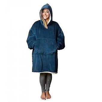 Donne ispessito doppio lato Lazy Clothes (Blu)
