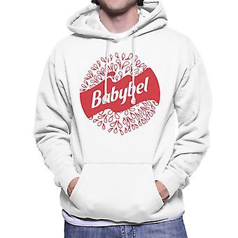 Baby Bel Detaljerade droppar Mäns Hooded Sweatshirt