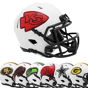 Riddell Speed Mini Football NFL Helmet LUNAR ECLIPSE Alternate