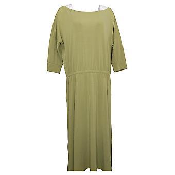 Brittany Humble Dress B.E. Ready Dolman Sleeve Midi Gray 753827