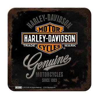 Harley Davidson Metalen Nostalgische Onderzetter