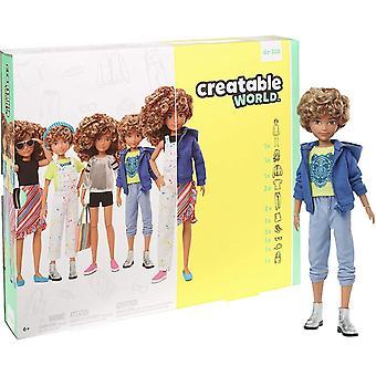 GGG56 Deluxe Charakter Kit Anpassbare Puppe, kreatives Spiel für alle Kinder ab 6 Jahren, blond