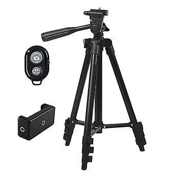 Aliaj 360 Telescopic 4-speed Smartphone Trepied - Negru