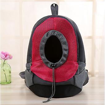 Haustier Reiseträger sollte Tasche Tragetasche Ruck Sack Rücken PackungLeichtgewicht Haustierträger Rücken Pack ideal für kleine Hunde und andere Haustiere bequem zu tragen