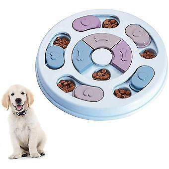 Jouet lent, jouet slow feeder bowl chien jouet