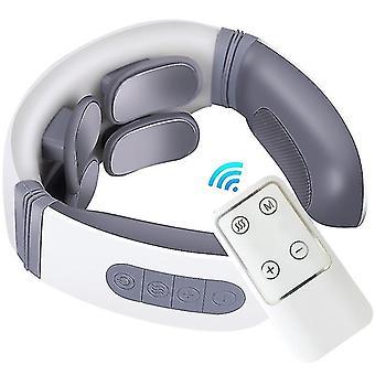 Laiqiankua Smart Masseur de cou sans fil avec 4 modes et 12 vitesses, avec télécommande, pour la maison