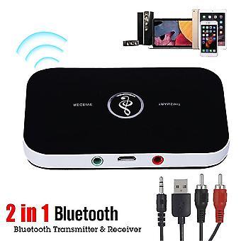 2 in 1 ワイヤレス Bluetooth 送信機 &受信機 ホーム テレビ ステレオ オーディオ アダプター
