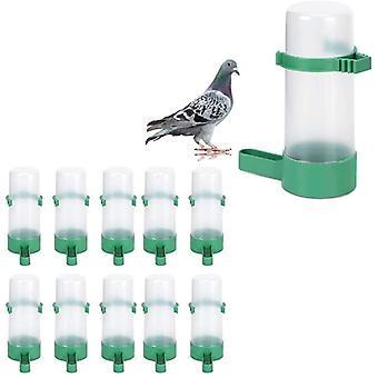 מיכל מאכיל ציפורים, מיכל מי שתייה מפלסטיק עגול 10 יחידות
