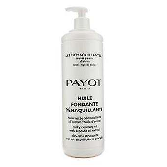 Les Demaquillantes Huile Fondante Demaquillante Aceite limpiador de leche - Para todos los tipos de piel (tamaño de salón) - 1000ml/33.8oz