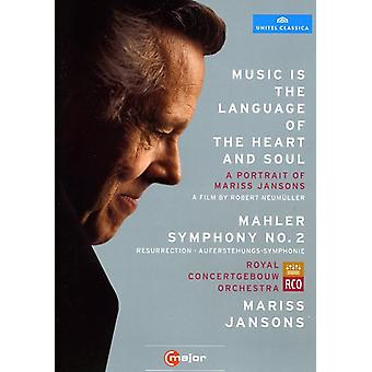 Music Is the Language of the Heart & Soul/Mahler S [DVD] USA import