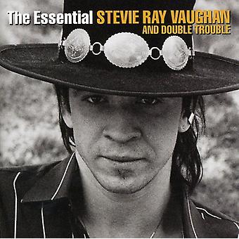 Stevie Ray Vaughan - väsentliga Stevie Ray Vaughan & dubbel trubbel [CD] USA import